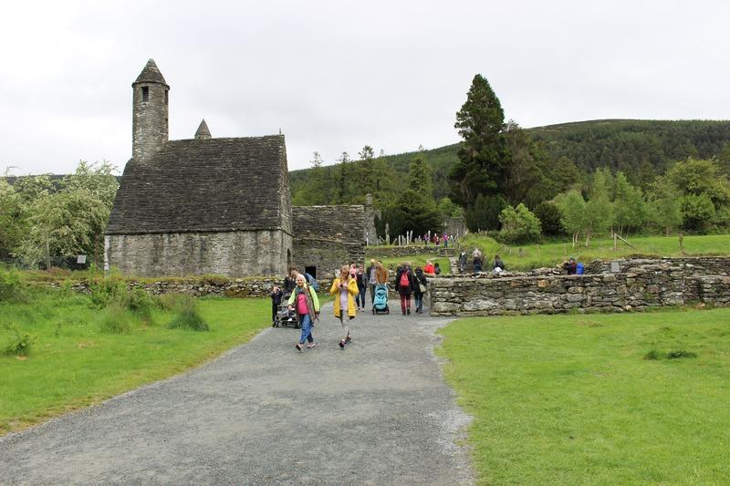 Национальный парк Уиклоу Маунтинс в Ирландии