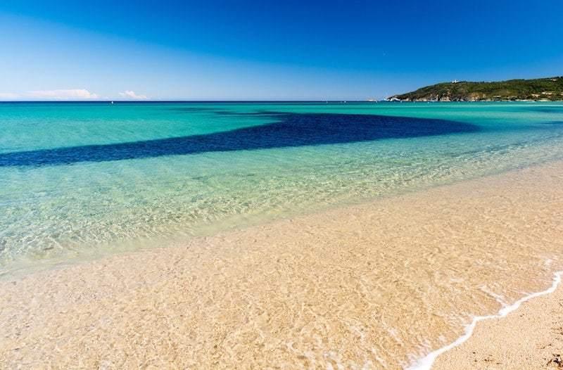 Пляж Пампелон во Франции