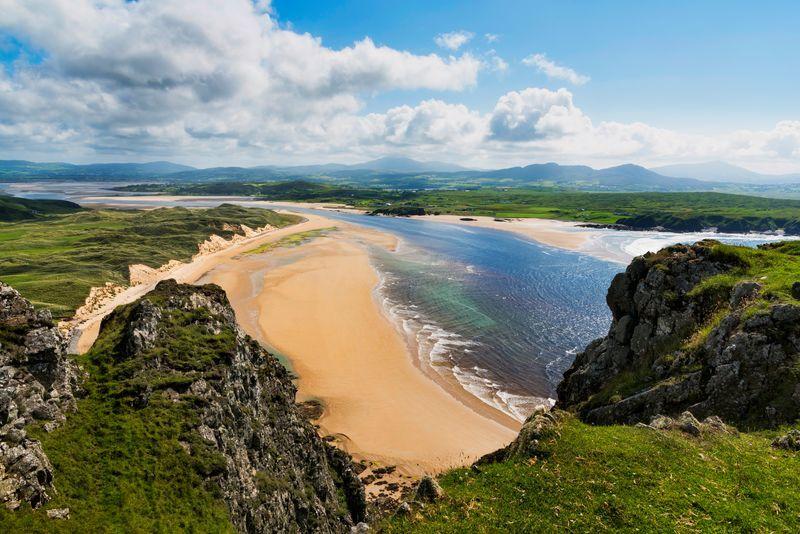 Inch Beach в Ирландии