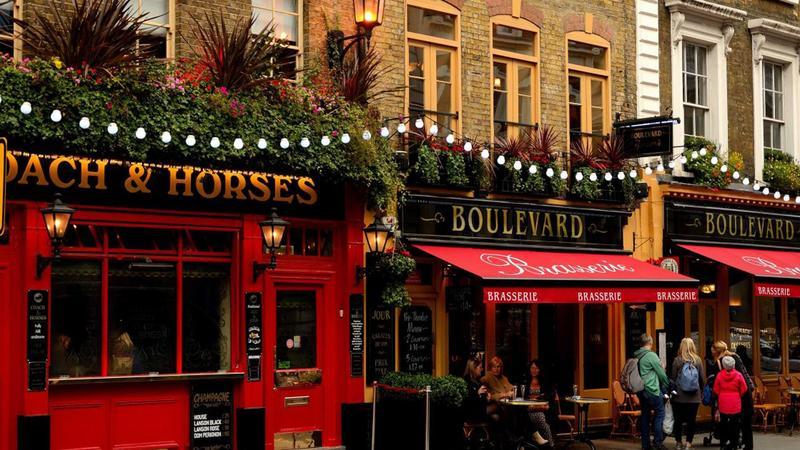 Район Covent Garden