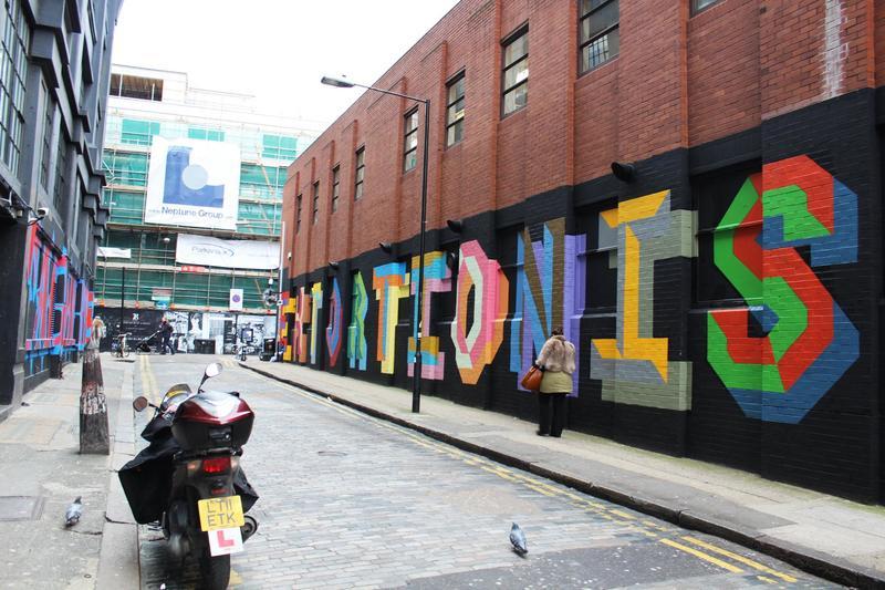 Район Шордитч, Shoreditch в Лондоне