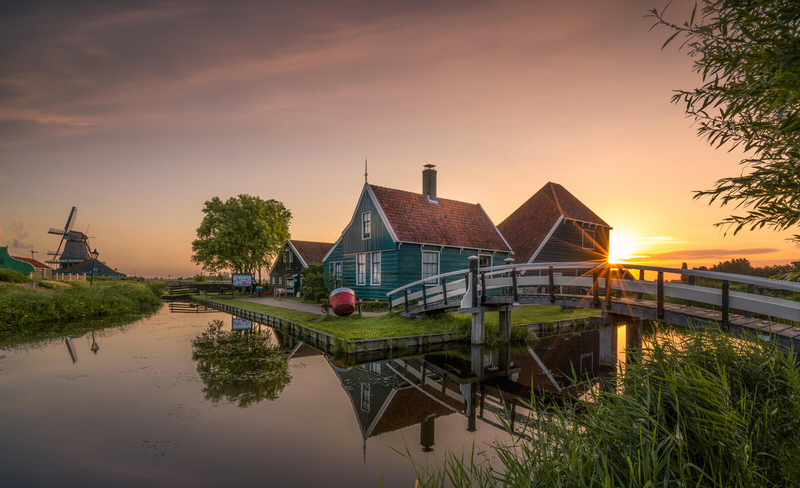 Заансе-Сханс в Нидерландах