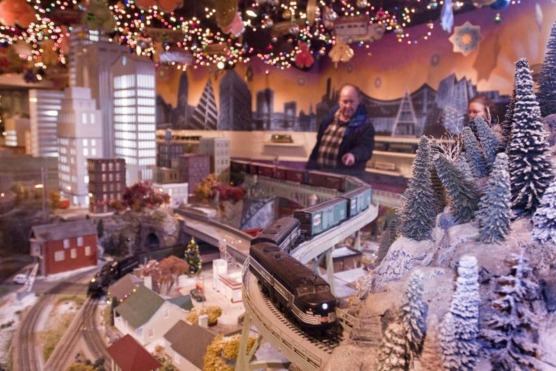 Рождественская ярмарка на Центральном вокзале