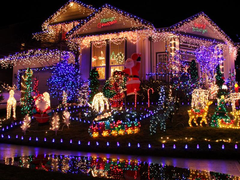 Район Рождественских декораций