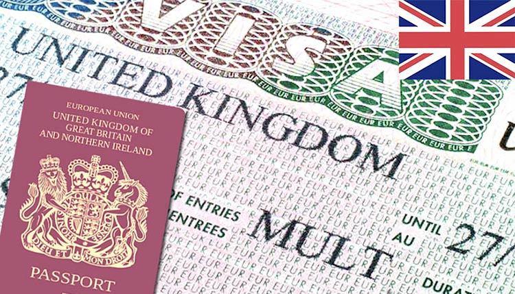 виза в Виликобританию