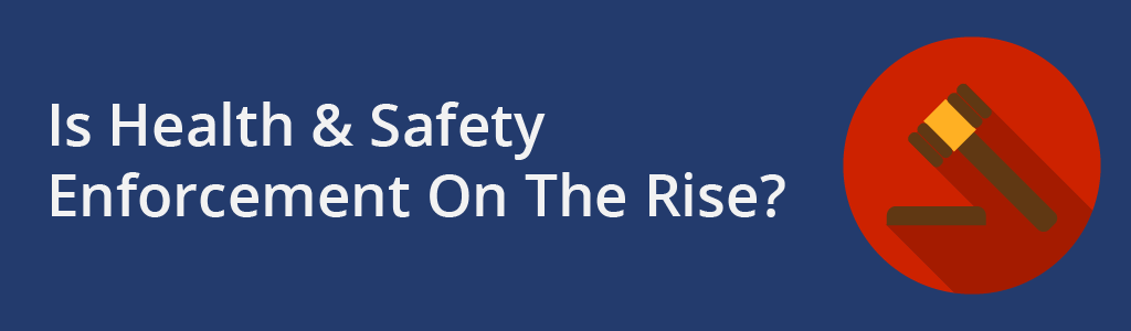 Is health and safety enforcement on the rise - Project Skills Solutions - Gavel flat icon