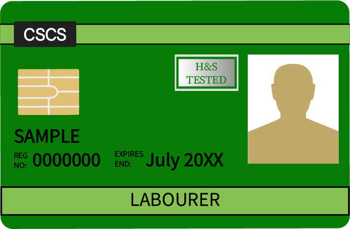 Image of the CSCS Labourer Card