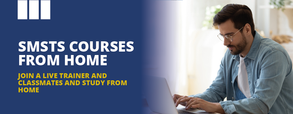 SMSTS Remote and virtual courses from home