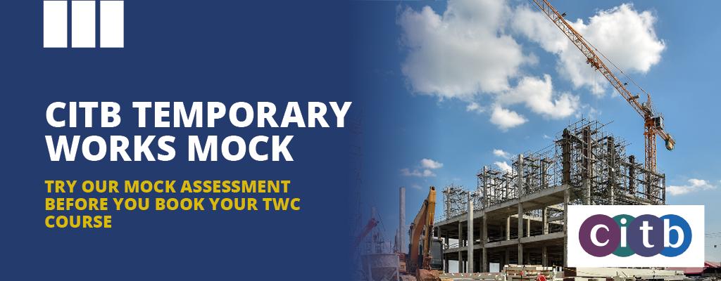 CITB Mock Assessments Banner - Temporary Works Coordinator