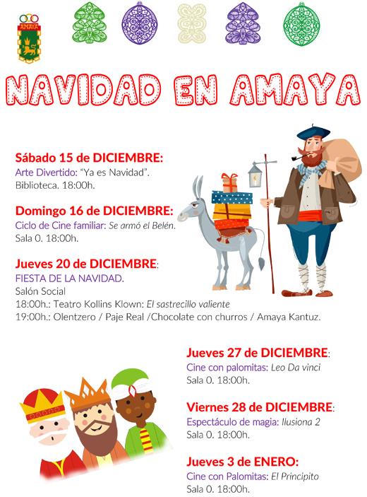Cartel Programacion Navidadweb