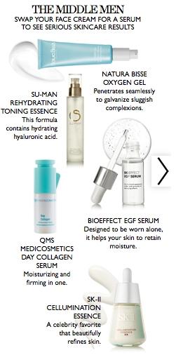 Cleanse, tone, moisturize