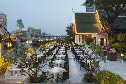 Bangkok 5 star hotel mandarin oriental, luxury spa