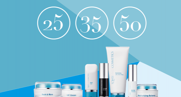 Find out the best skincare routine for your age