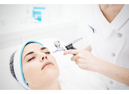 non surgical procedure, but using oxygen and QMS products it feels like you have had some form of surgery. Anti-aging, skincare at its best.