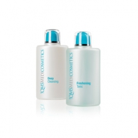A cleansing and conditioning duo designed for all skin types.