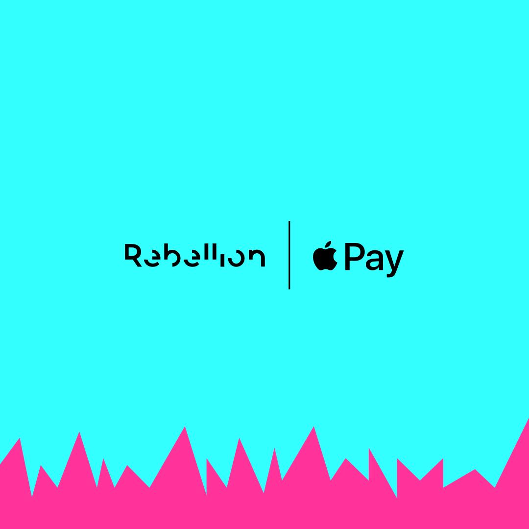 Rebellion, ahora con Apple Pay