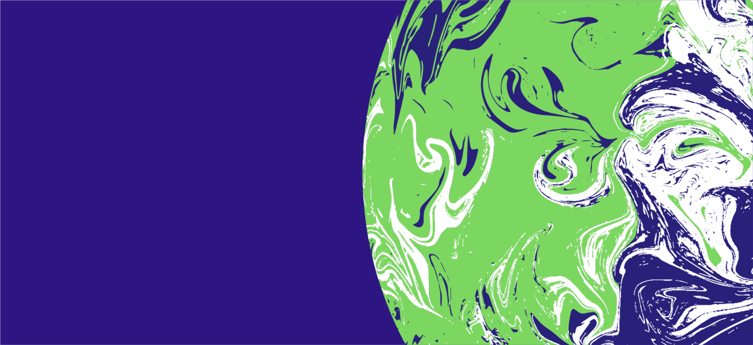 COP26 earth graphic