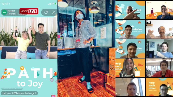 Path launching party in Klook Live!