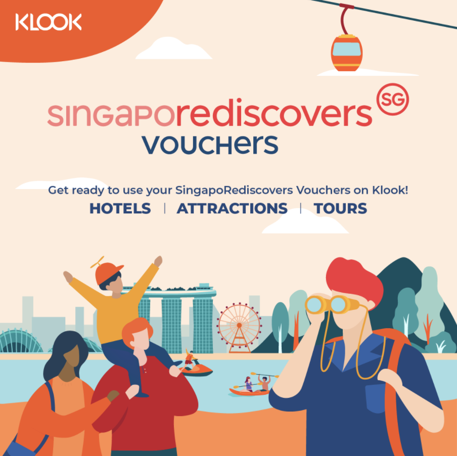 SingapoRediscovers at Klook Banner