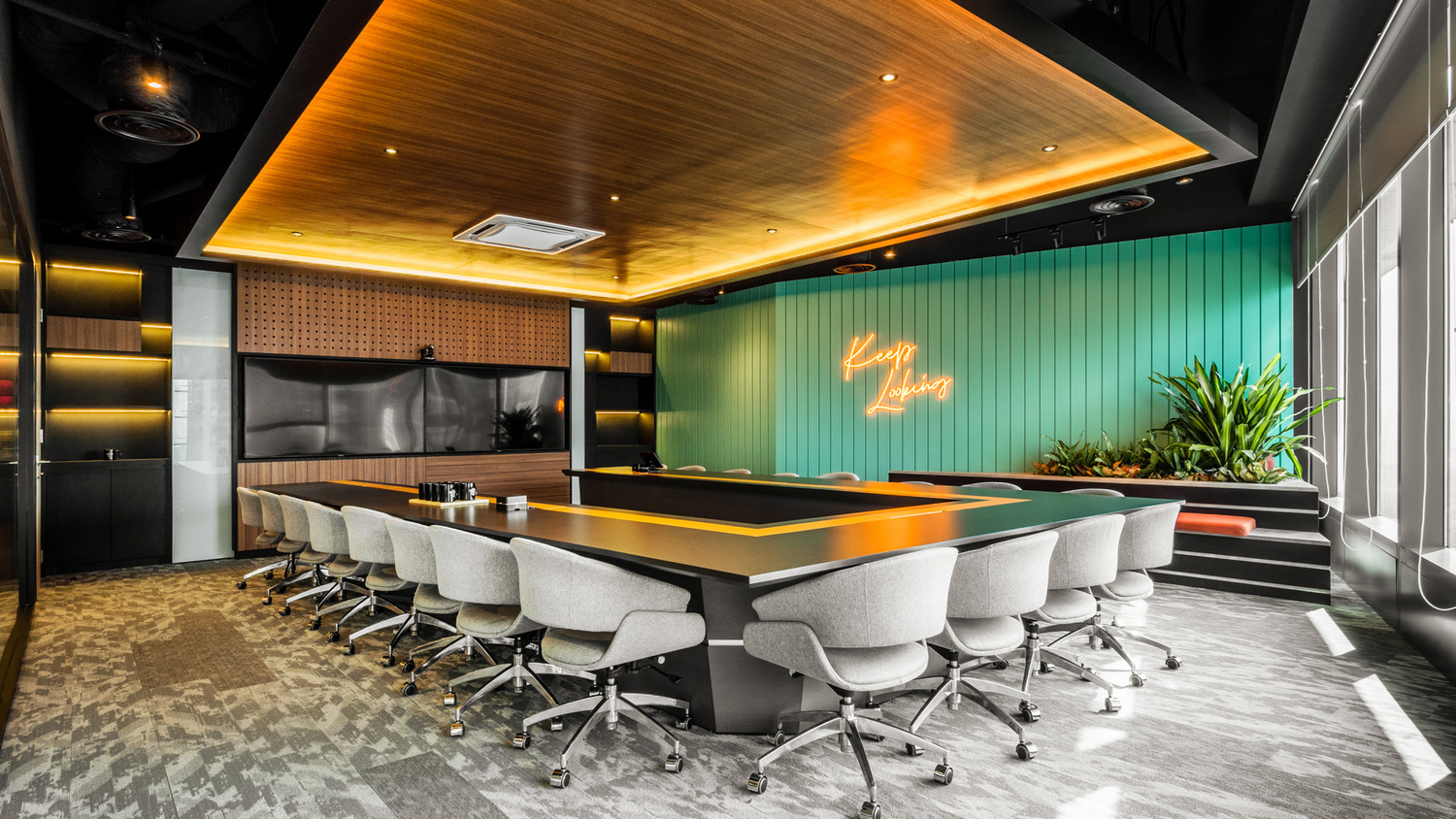 Room, Conference Room, Meeting Room, Indoors, Chair, Furniture