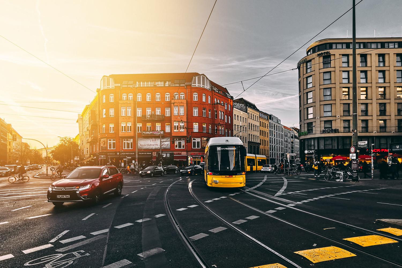 Vehicle, Transportation, Car, Tarmac, Road, Bus, Wheel, Metropolis, Train, Person