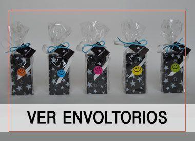 Envoltorios para regalos invitados