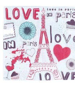 """SERVILLETAS """"LOVE IN PARêS"""""""