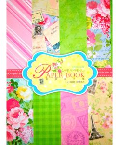 SET 32 PLIEGOS SCRAP FLORAL