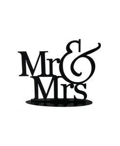 FIGURA PASTEL METçLICA MR&MRS