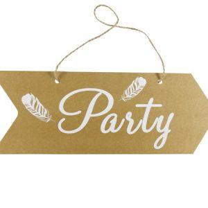 CARTEL FLECHA PARTY