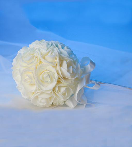 Ramo alfileres novia floral