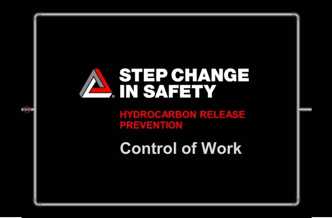 Hydrocarbon Release Prevention - Control of Work