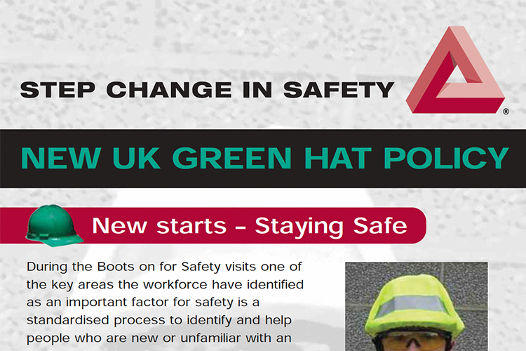 Green Hat Leaflet