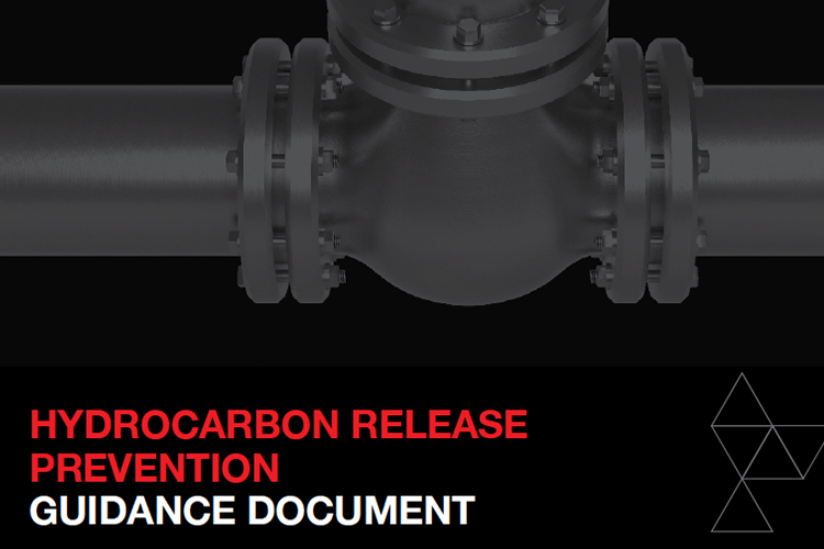 Hydrocarbon Release Prevention guidance