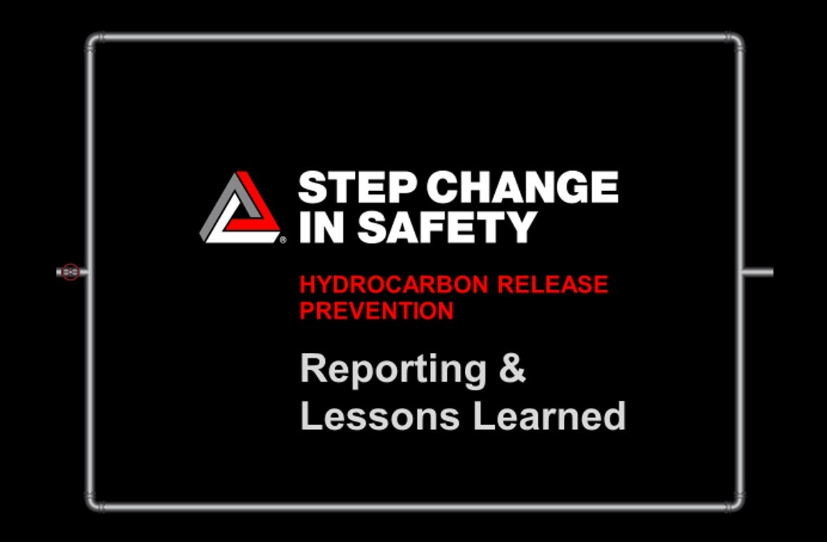 Hydrocarbon Release Prevention - Reporting and Lessons Shared
