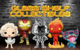 Glass Shelf Collectibles funko pops chase exclusive vaulted and grails