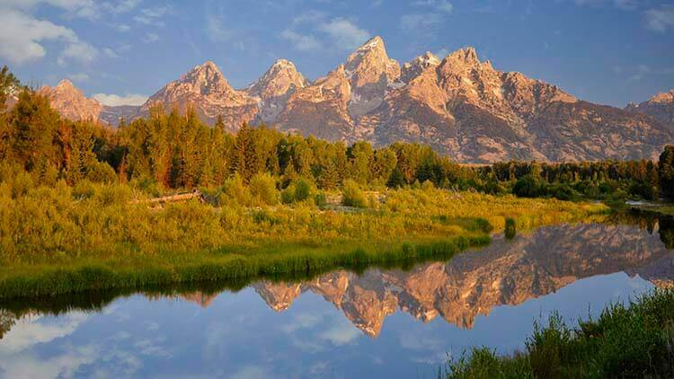 schwabachers landing grand tetons national park