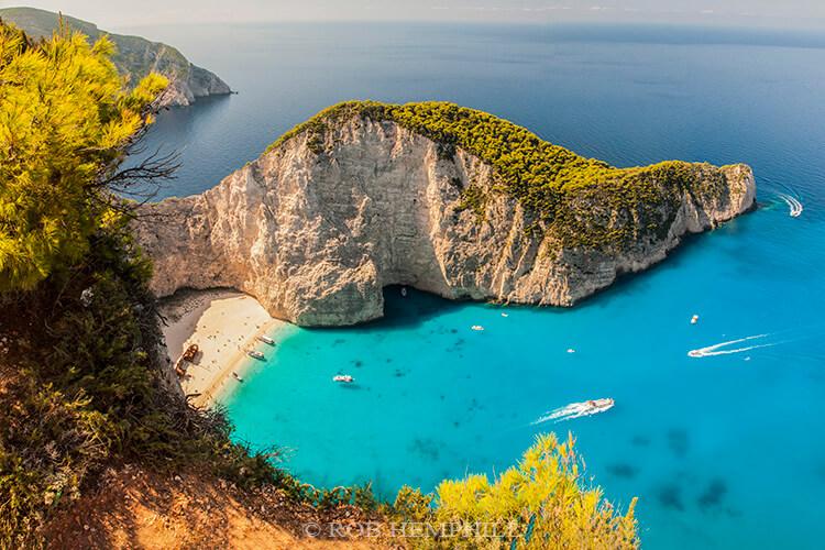 navagio beach greece by rob hemphill