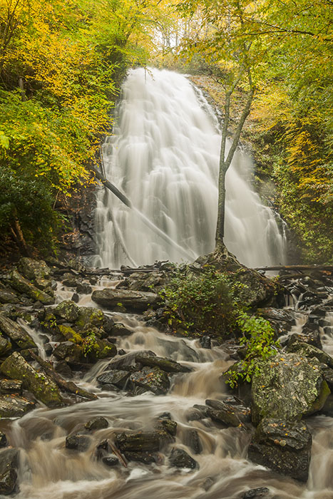 How To Take Waterfall Pictures - Crabtree Falls
