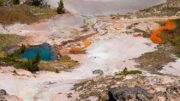 artists paint pots yellowstone national park