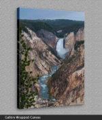lower yellowstone falls canvas