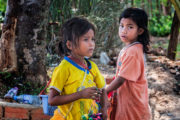 little cambodian girls