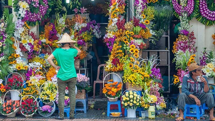 ho chi minh city flower shop