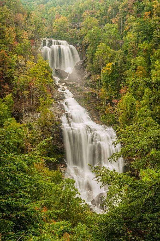 whitewater falls north carolina