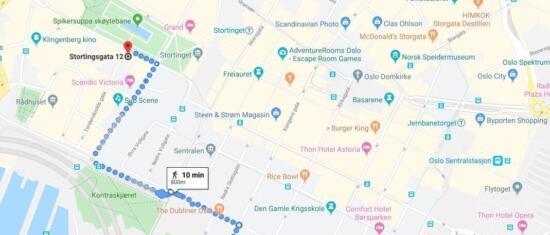 Mandag 25. november flytter Urbanet Analyse til nye lokaler i Stortingsgata 12