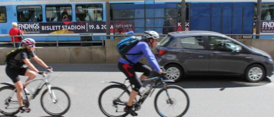 Når ikke trafikkmål med planlagte tiltak