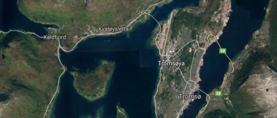 Evaluerer kollektivfelt på Kvaløyvegen