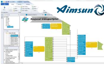 Integrasjon av RTM og Aimsun