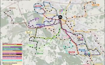 Analys av linjenätsförslag i Linköping och Norrköping