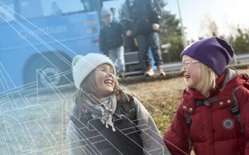 Nyttevurdering av forbedret kollektivtilbud i Hokksund